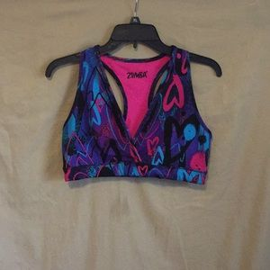 Zumba Love Reversible Bra